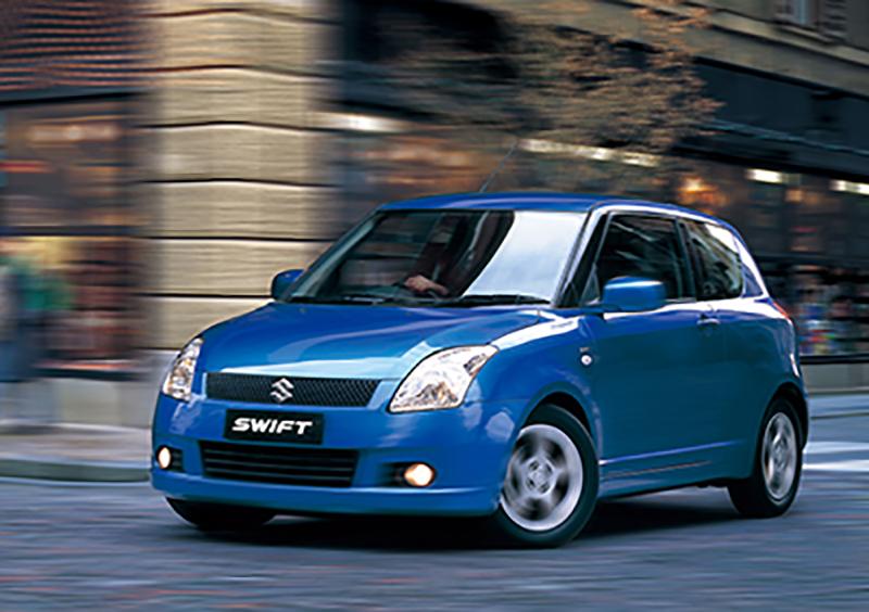 History of Suzuki Swift